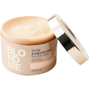 BLONDME  Tone Enhancing Bonding Mask - Warm Blond
